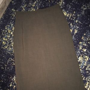 2 long work skirts GAP size 14
